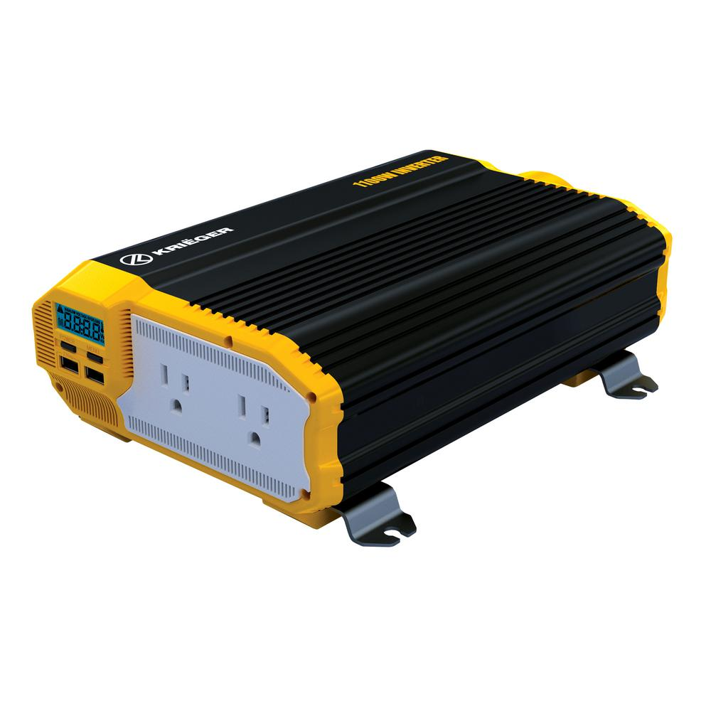 Krieger 1100-Watt Power Inverter-KR1100 - The Home Depot