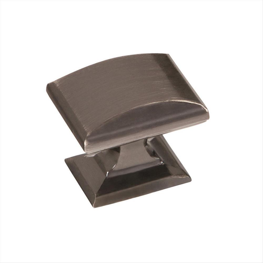 Candler 1-1/4 in. (32 mm) Gunmetal Cabinet Knob