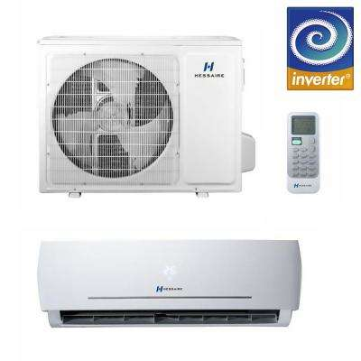 12,000 BTU 1.0-Ton Ductless Mini Split Air Conditioner Only and Heat Pump - 115V Single Zone with 16 ft. Copper Line Set