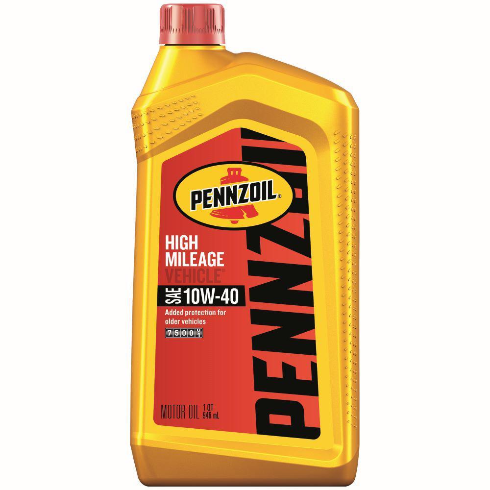Pennzoil Near Me >> Pennzoil 1 Qt Sae 10w 40 High Mileage Motor Oil