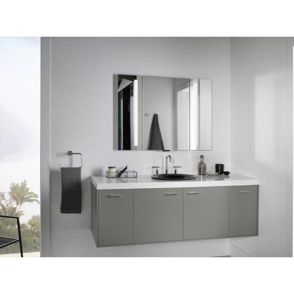 Kohler Verdera 40 In W X 33, Kohler Led Bathroom Mirror