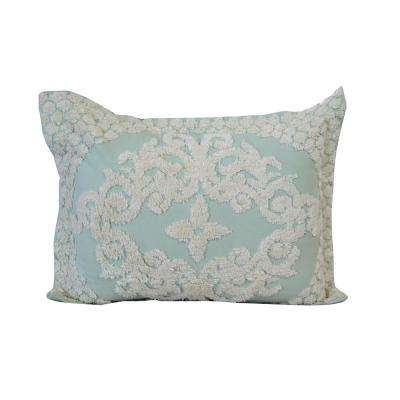 21 in. x 27 in. Florence Sage Shams (2-Piece)