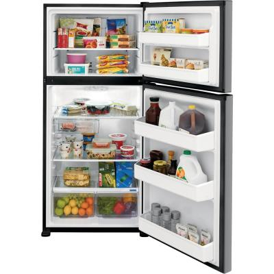 18.3 cu. ft. Top Freezer Refrigerator in Stainless Steel