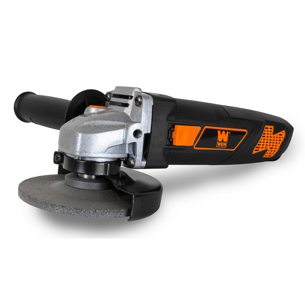 WEN 7 Amp Corded 4-1/2 in. Angle Grinder