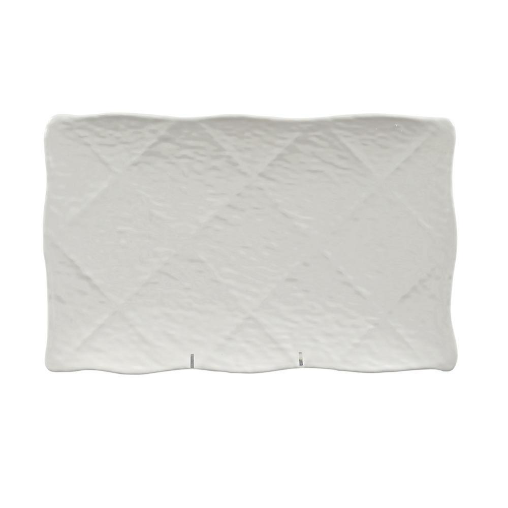 Martello Porcelain White Melamine Platter