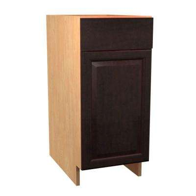 Ancona Ready To Assemble 15 X 34.5 X 24 In. Base Cabinet With 1 Soft