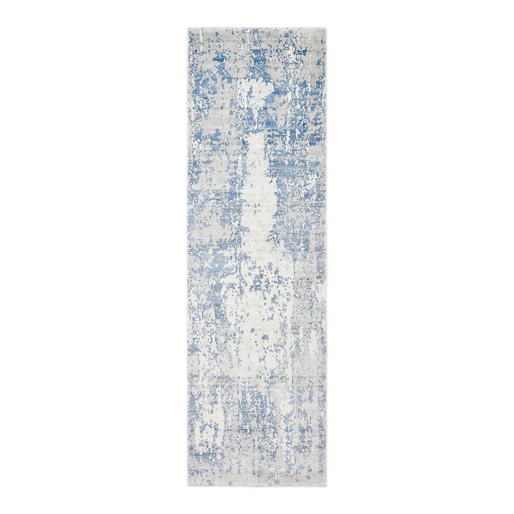 Kala Contemporary Cream 2 ft. 6 in. x 10 ft. Hand Loomed Runner Rug