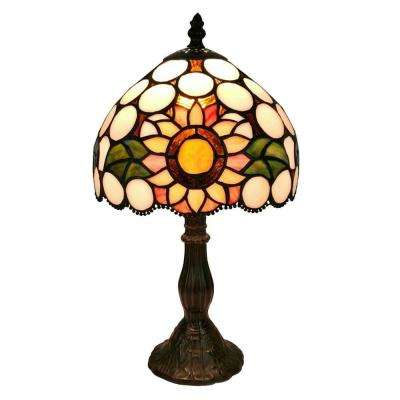 15 in. Multicolored Table Lamp