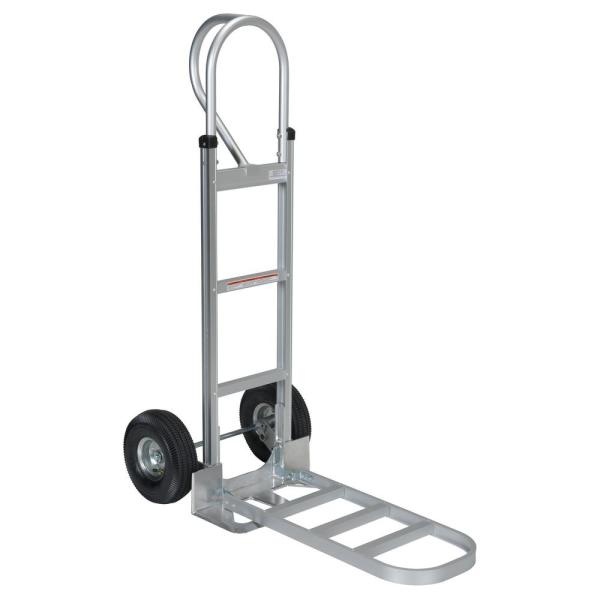 Aluminum P-Handle Hand Truck Pneumatic