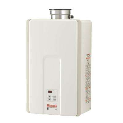 High Efficiency 6.5 GPM Residential 150,000 BTU Natural Gas Interior Tankless Water Heater