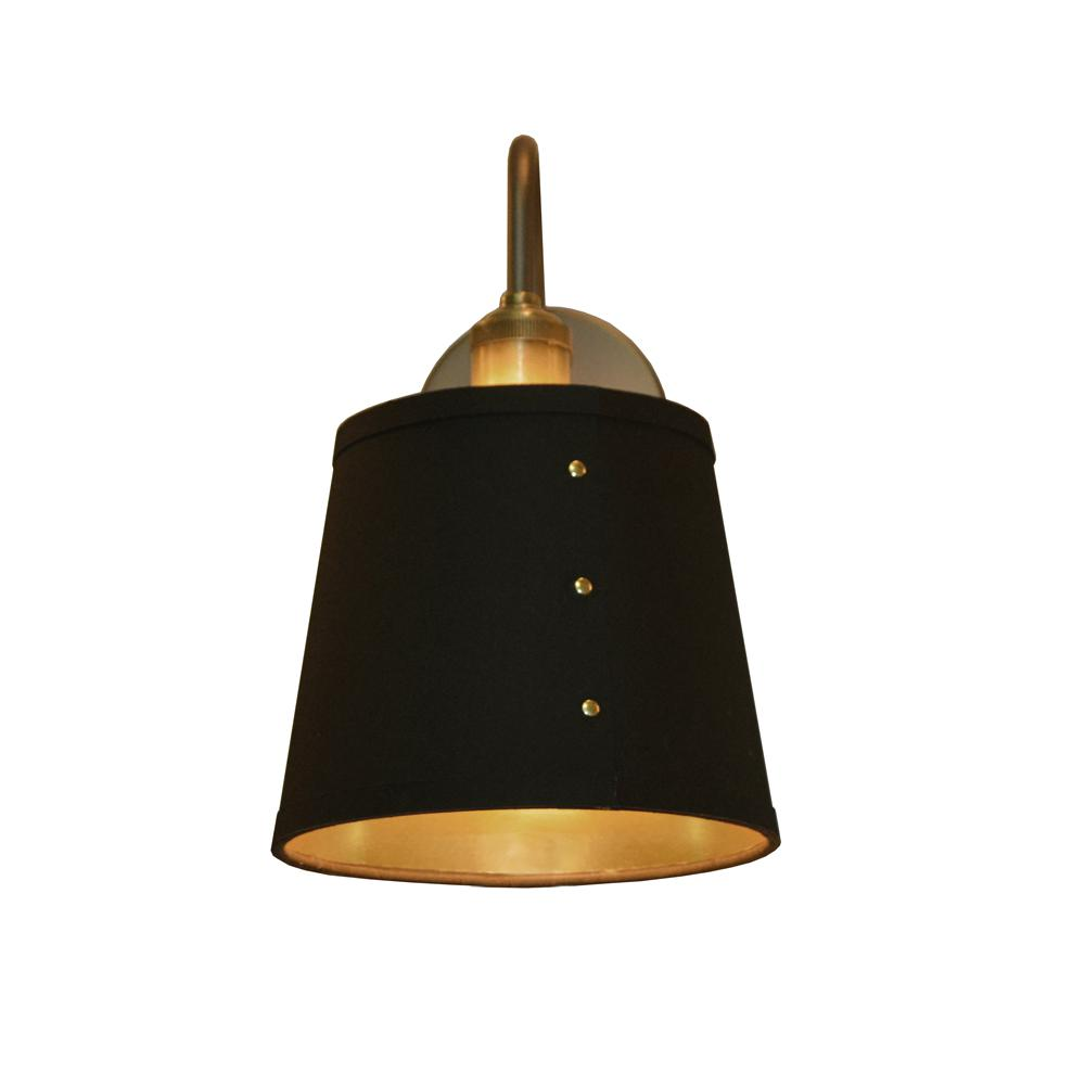 Filament Design 1 Light Black On Gold Wall Sconce Cli Dn081061 The