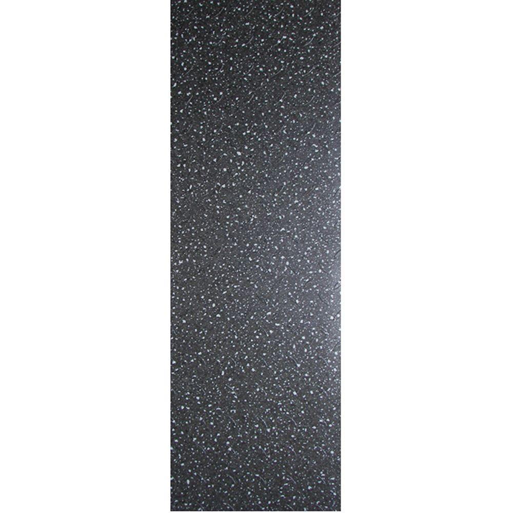 TrafficMASTER Commercial 12 in. x 36 in. Confetti Black Vinyl Flooring (24 sq. ft. / case)