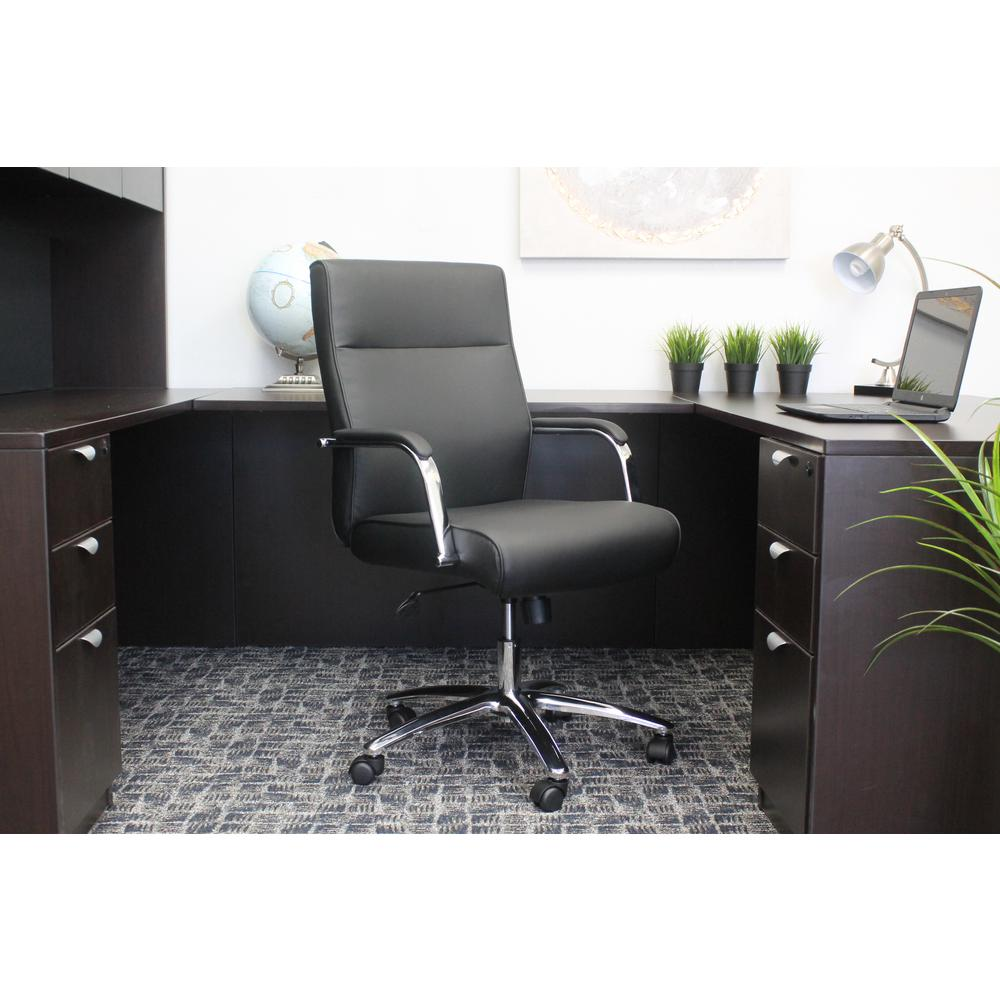 Boss Black Modern Executive Conference Chair