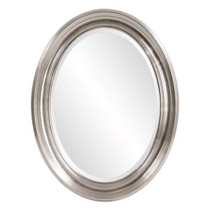 Sterling Oval Silver Mirror
