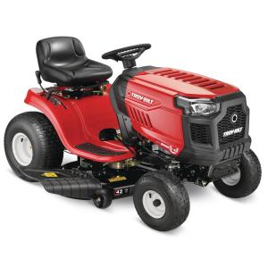Bronco 42 in. 19 HP Briggs and Stratton Engine Automatic Drive Gas Riding Lawn Mower