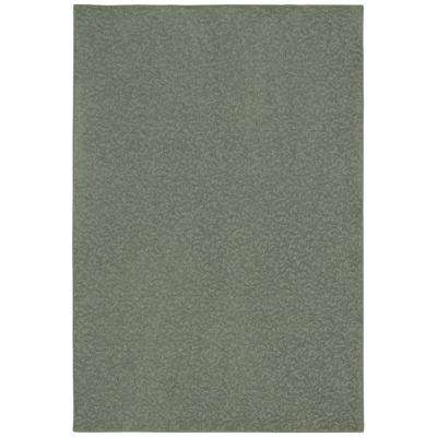Pattern Perry Meandering Texture 6 ft. x 9 ft. Bound Carpet Rug