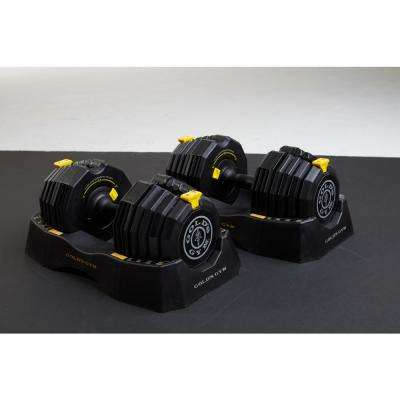 110 lbs. Adjustable Dumbbell Set