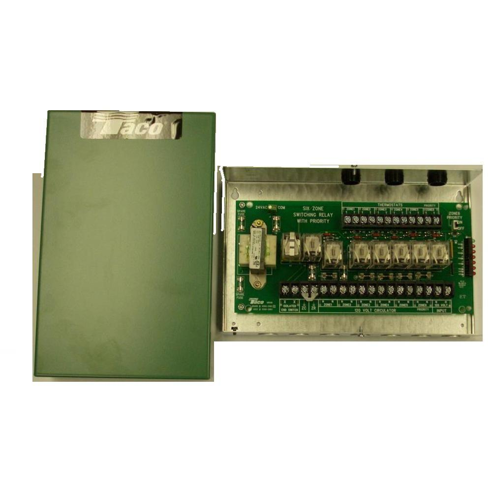 Taco Comfort Solutions 6 Zone Switching Relay Switch For Ups