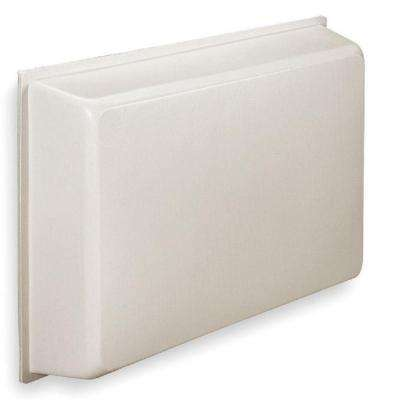 Universal Air Conditioner Indoor Cover in White