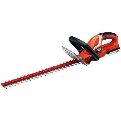 22 in. 20-Volt MAX Lithium-Ion Cordless Hedge Trimmer with 1.5Ah Battery and Charger Included