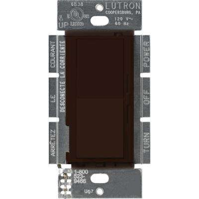 Diva 450-Watt Single-Pole Magnetic Low-Voltage Dimmer, Brown