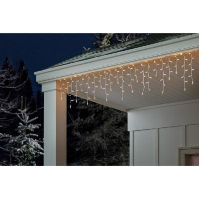 300-Light Clear Icicle Lights