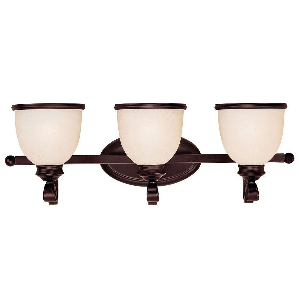 Light English Bronze Bath Vanity