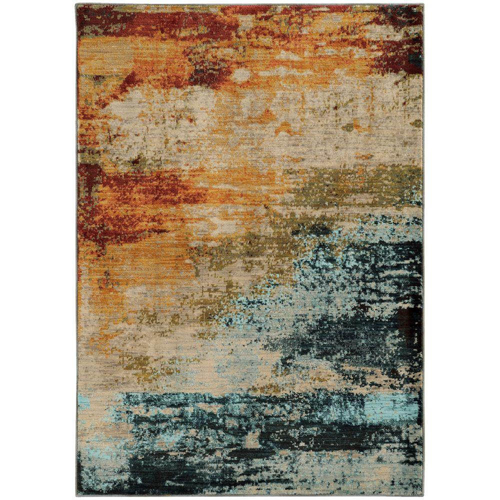 Dusk Multi 5 ft. 3 in. x 7 ft. 6 in.