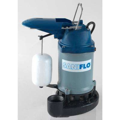 sanipump 13 hp submersible sump pump