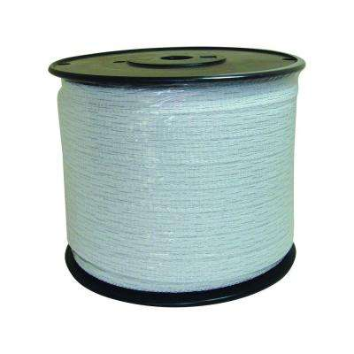 1/2 in. x 1,312 ft. White Polytape