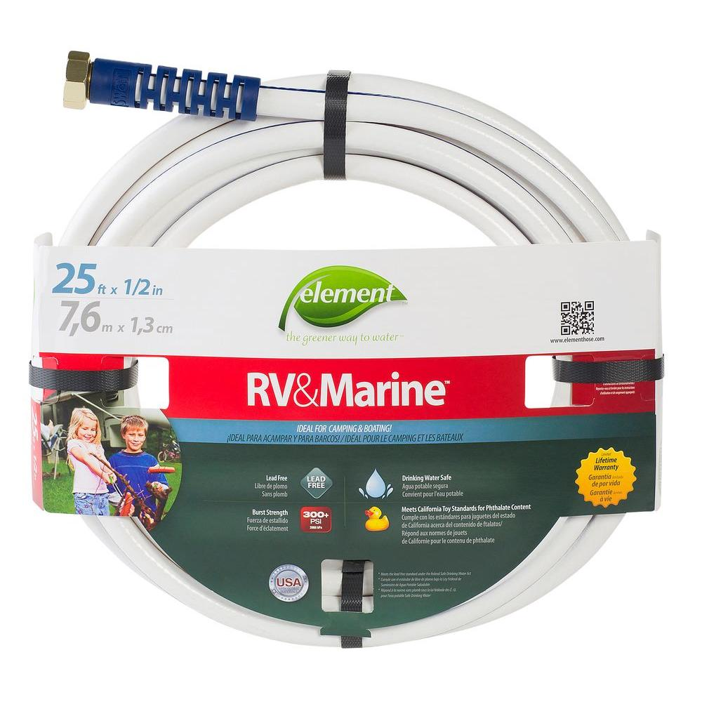 1/2 in. Dia x 25 ft. RV and Marine Water Hose