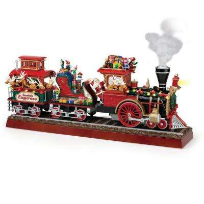 Christmas Trains - Indoor Christmas Decorations - The Home ...