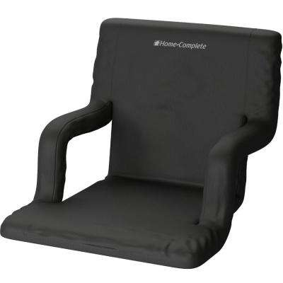 Black Wide Stadium Seat Chair