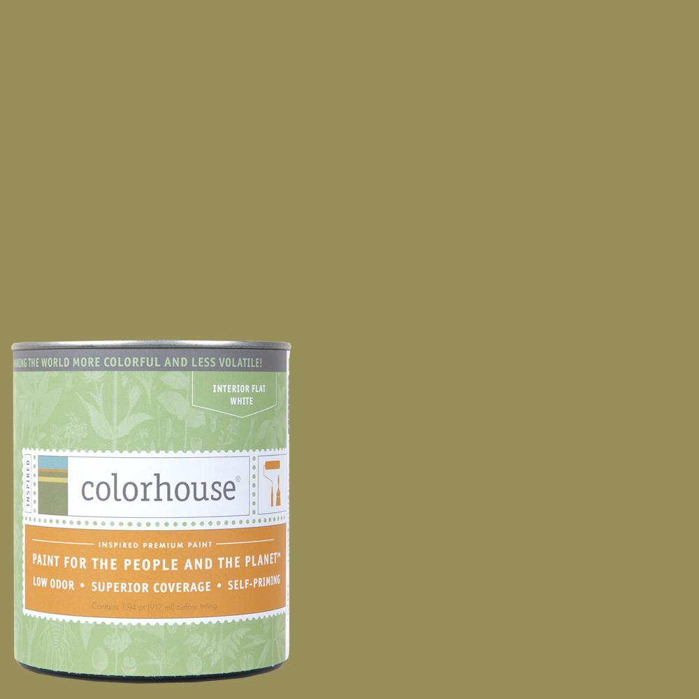 1 qt. Leaf .05 Flat Interior Paint