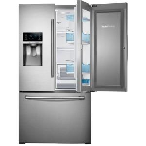 Click here to buy Samsung 27.8 cu. ft. Food Showcase French Door Refrigerator in Stainless Steel by Samsung.