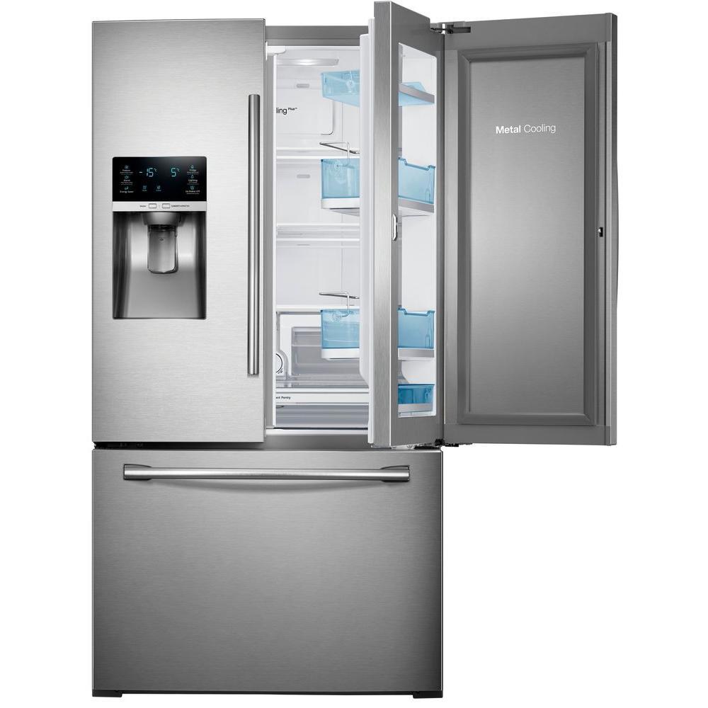 Samsung RF28HDEDBSR 36 Inch French Door Refrigerator