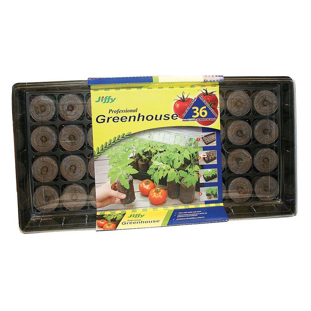36 Peat Pellet Tomato Starter Greenhouse