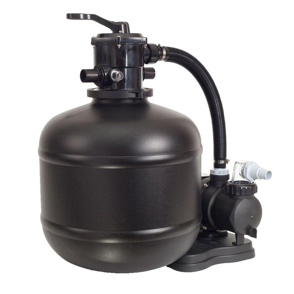 GAME 18 in. Above Ground Sand Filter System with 3/4 HP Pool Pump
