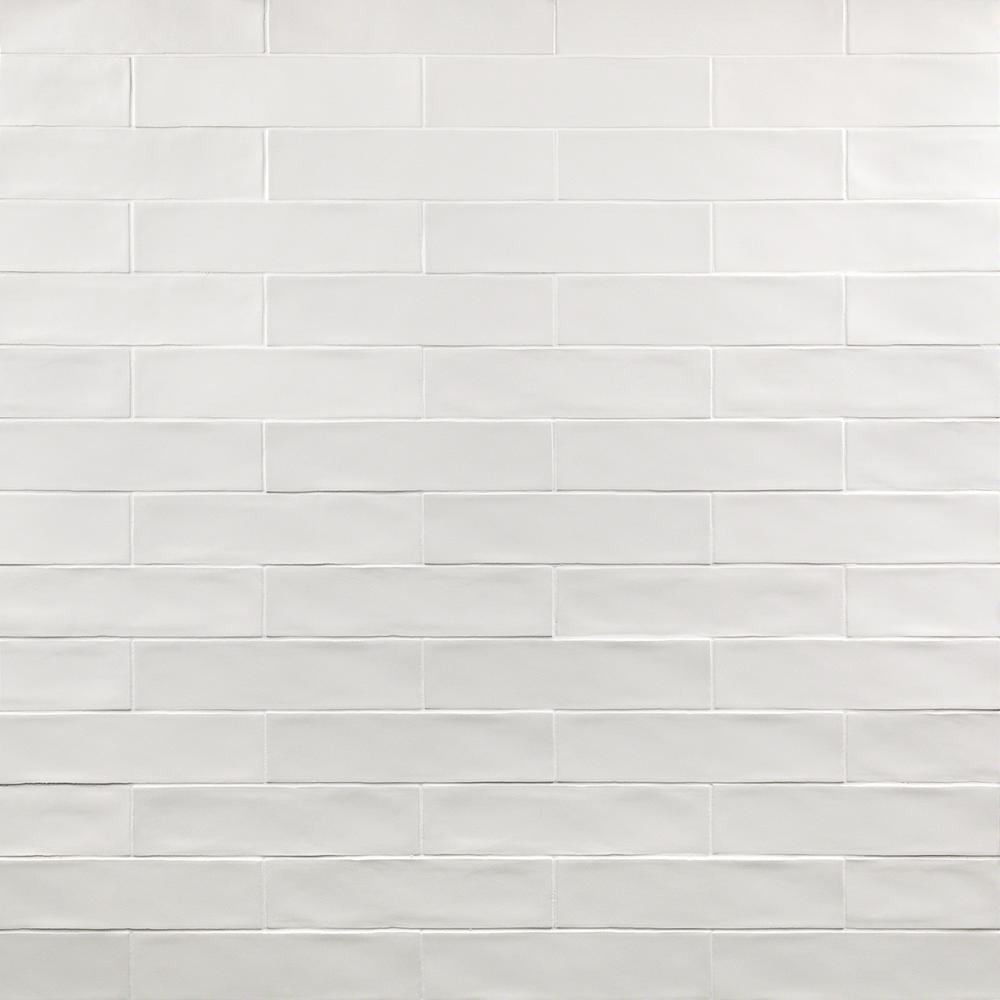 Ivy Hill Tile White 3 in. x 12 in. 8 mm Matte Ceramic Subway Wall Tile (22-piece 5.38 sq. ft. / Box)