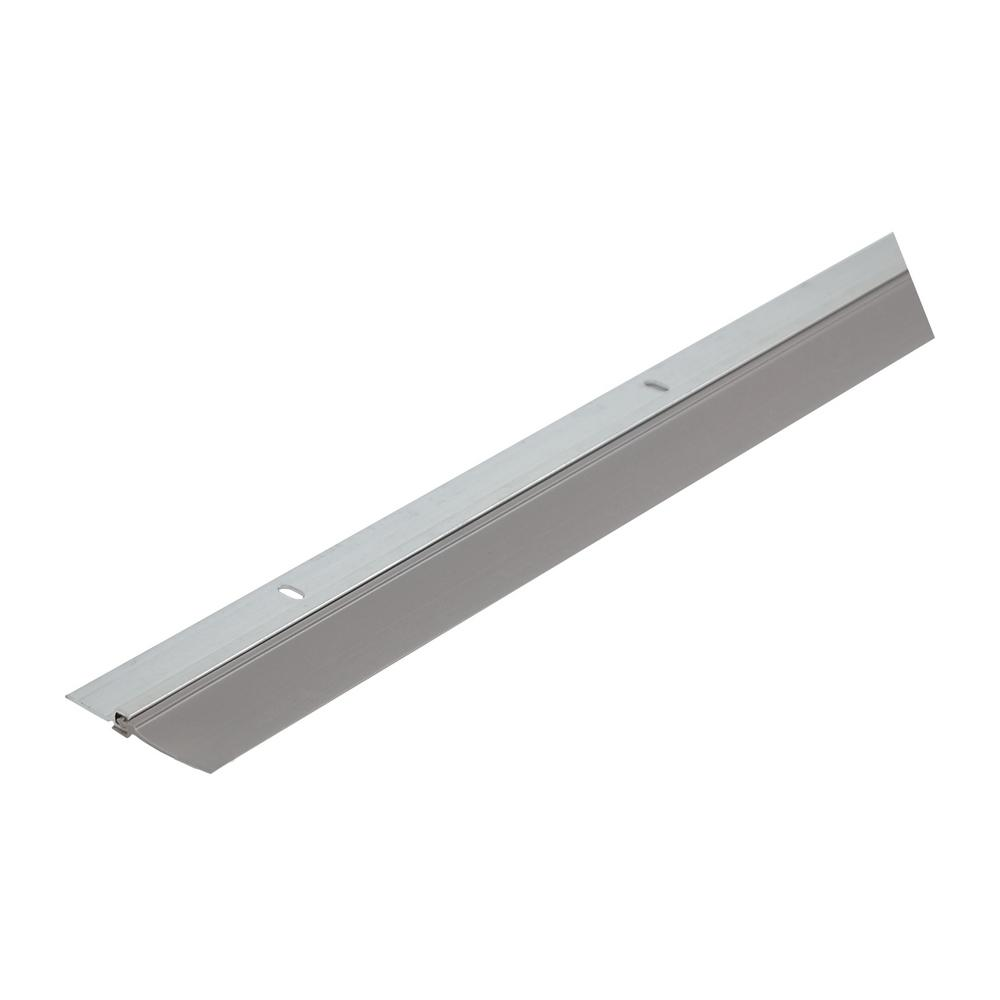 Single Seal 1-3/4 in. x 36 in. Gray Aluminum and Vinyl