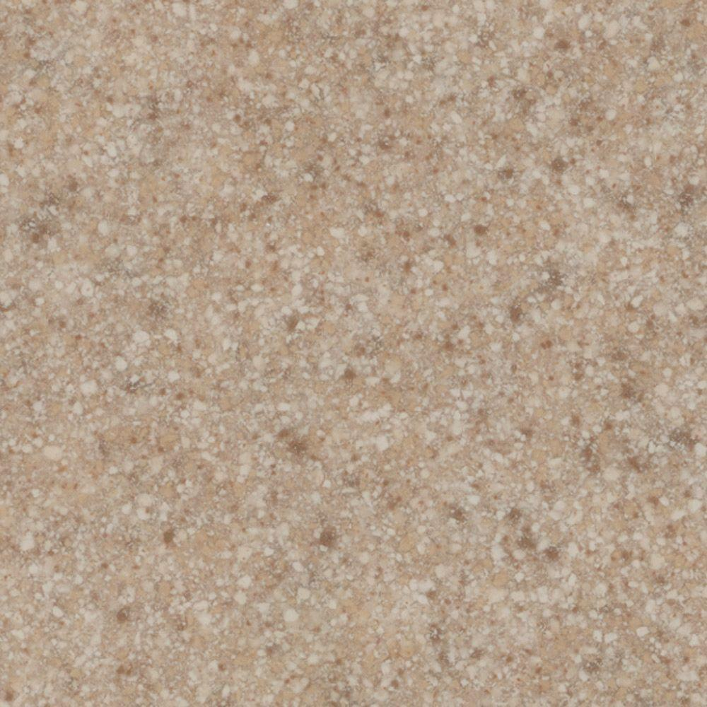 US Marble 3 in. Cultured Granite Sample Chip in Brown Sugar