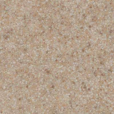 3 in. Cultured Granite Sample Chip in Brown Sugar