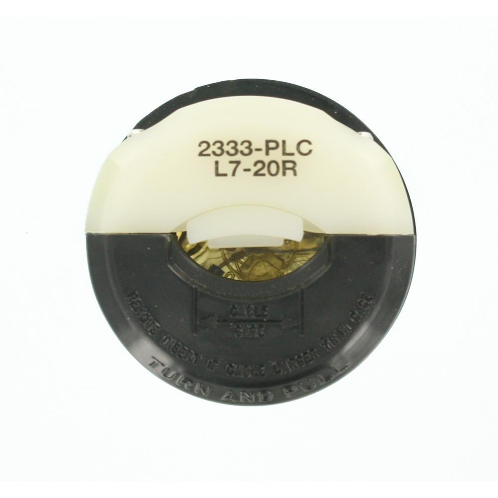 L7-20R Leviton connector body 2333 female cord cap