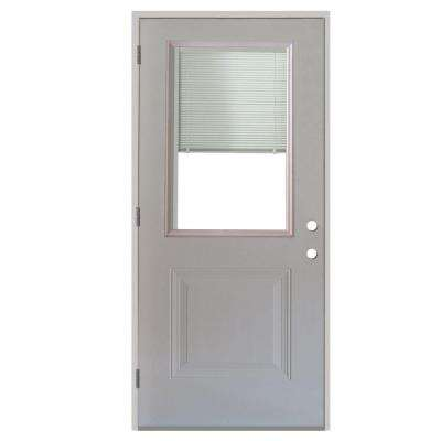 36 x 80 tamper proof hinges right hand outswing steel doors