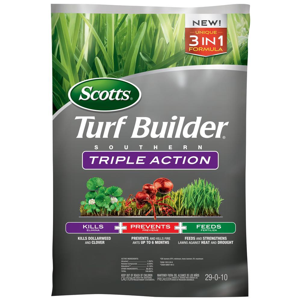 Turfbuilder 8M 26.84 lbs. Triple Action Southern Fertilizer