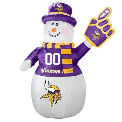 7 ft. Minnesota Vikings Inflatable Snowman