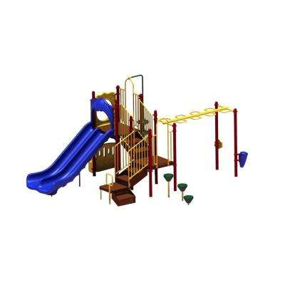 UPlay Today Maddie's Chase (Playful) Commercial Playset with Ground Spike