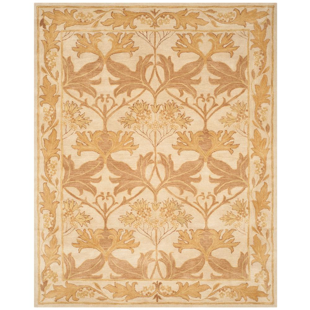 Antiquity Beige/Gold 8 ft. 3 in. x 11 ft. Area Rug