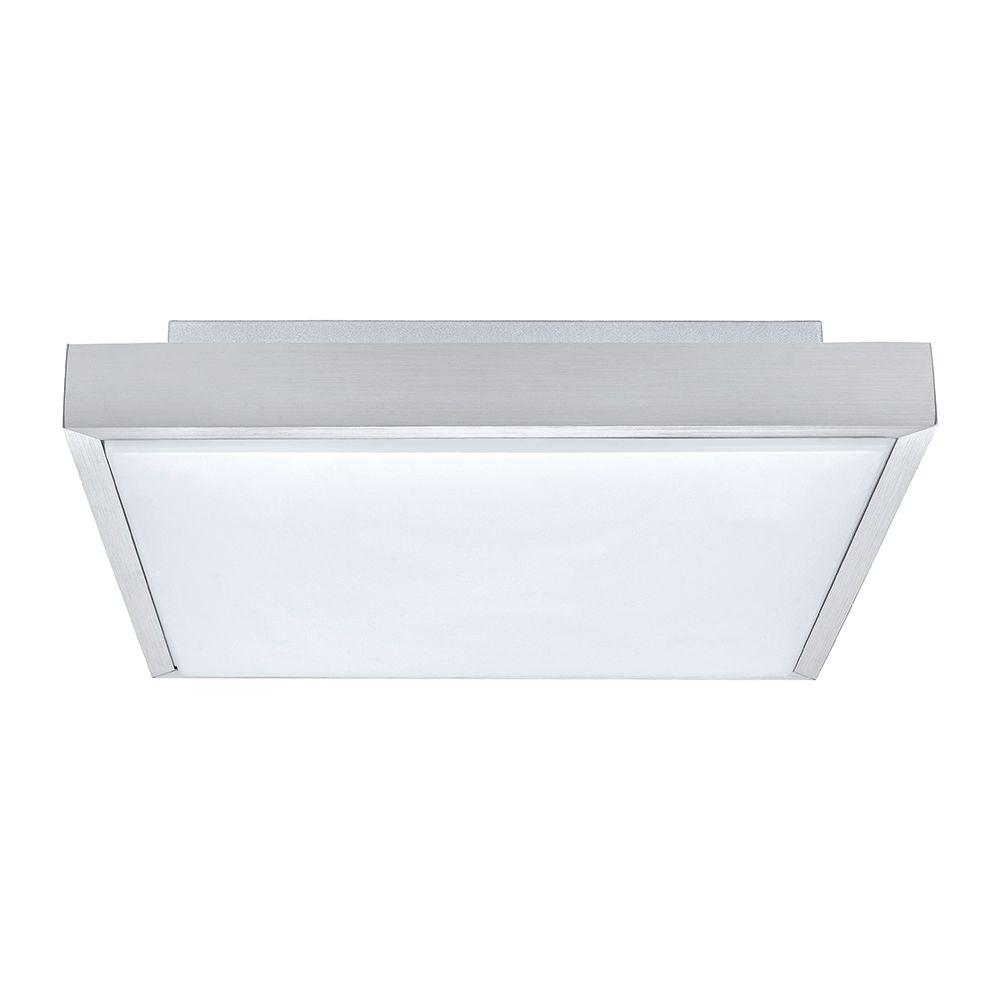 Idun 1 Matte Nickel Integrated LED Ceiling Light