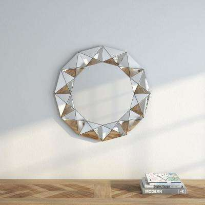 Madelyn 30.5 in. H x 30.5 in. W Decorative Mirror